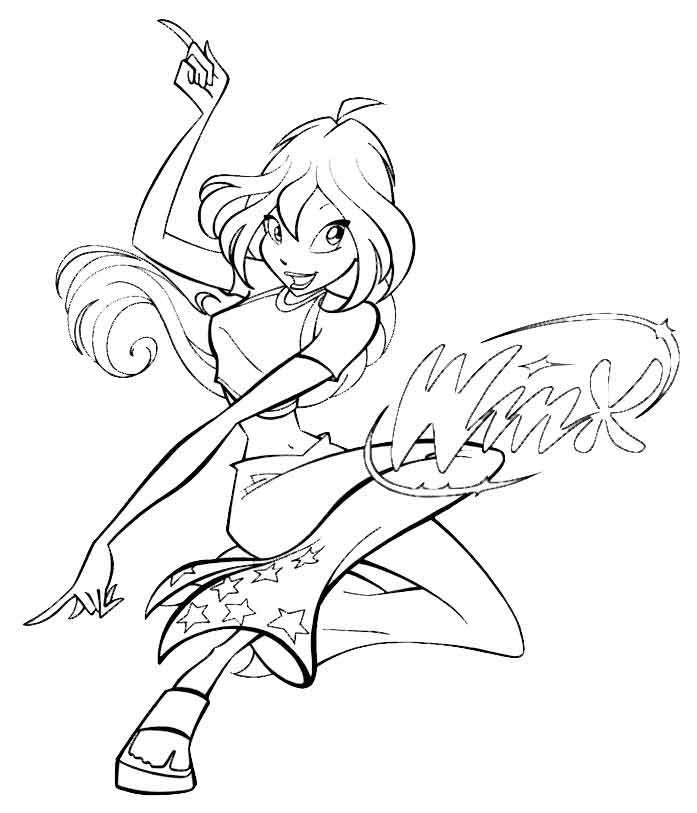 раскраска феи винкс 10 декабря 2010 игры для девочек